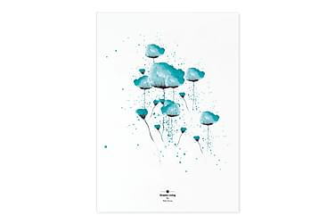 Graphic Living Blue
