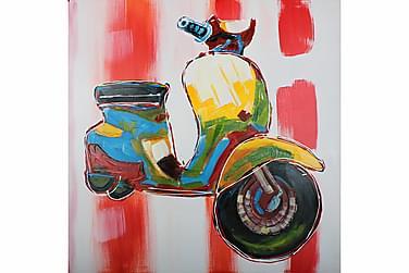 Scooter Oljemålning