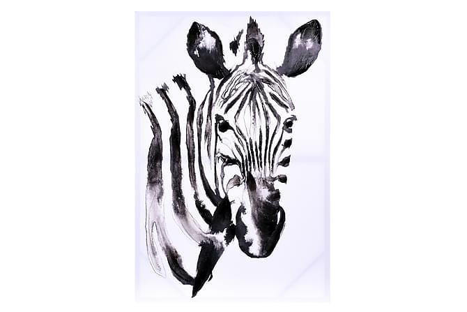Zebra Tavla - Heminredning - Väggdekor - Tavlor & konst