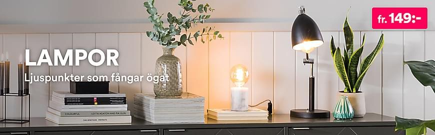 Inomhusbelysning & Lampor