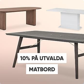 10% på utvalda matbord