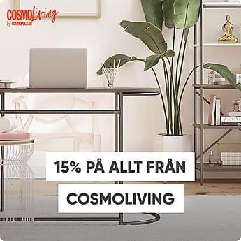 15% på allt från Cosmoliving