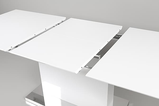 Spisebordssaet Tindra/zion Hvid H?jglans - Trademax