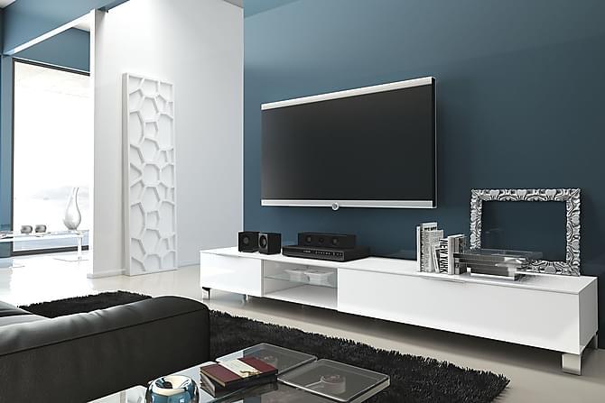 mobler-mediamobeler-sola-tv-benk-stor-2-foldedorer-hvit-p40525