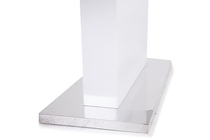 Tindra spisebord hvid højglans   trademax