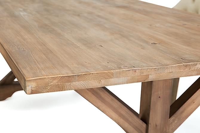 Lyon spisebordssæt med viktoria stole 6 viktoria lænestole   trademax