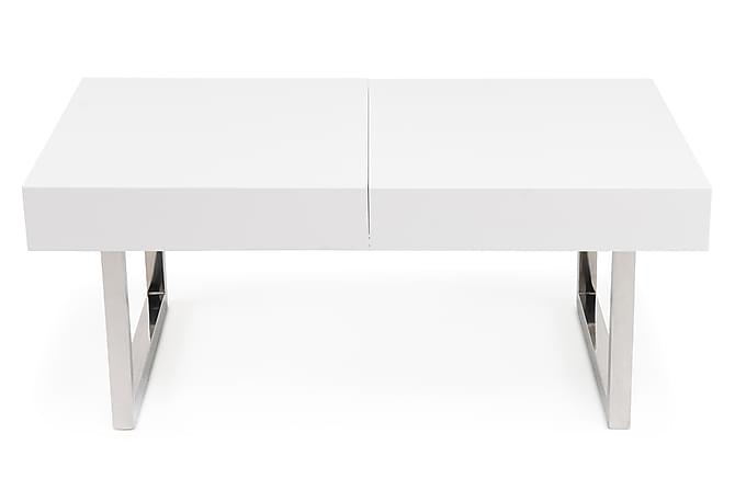 Line Sofabord Hvid H?jglans - Trademax