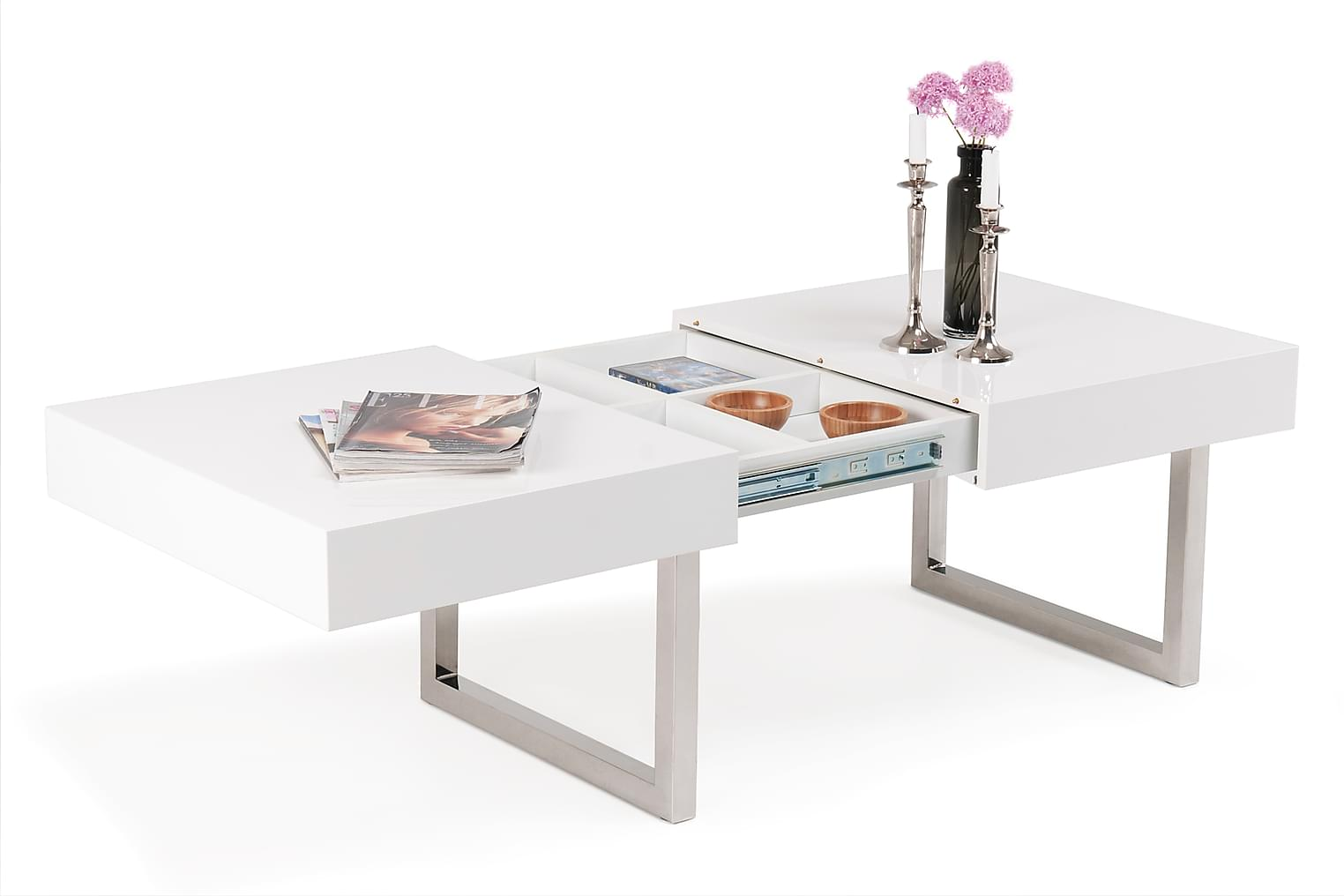 Scandinavian Choice Line Salongbord - Hvit H?yglans