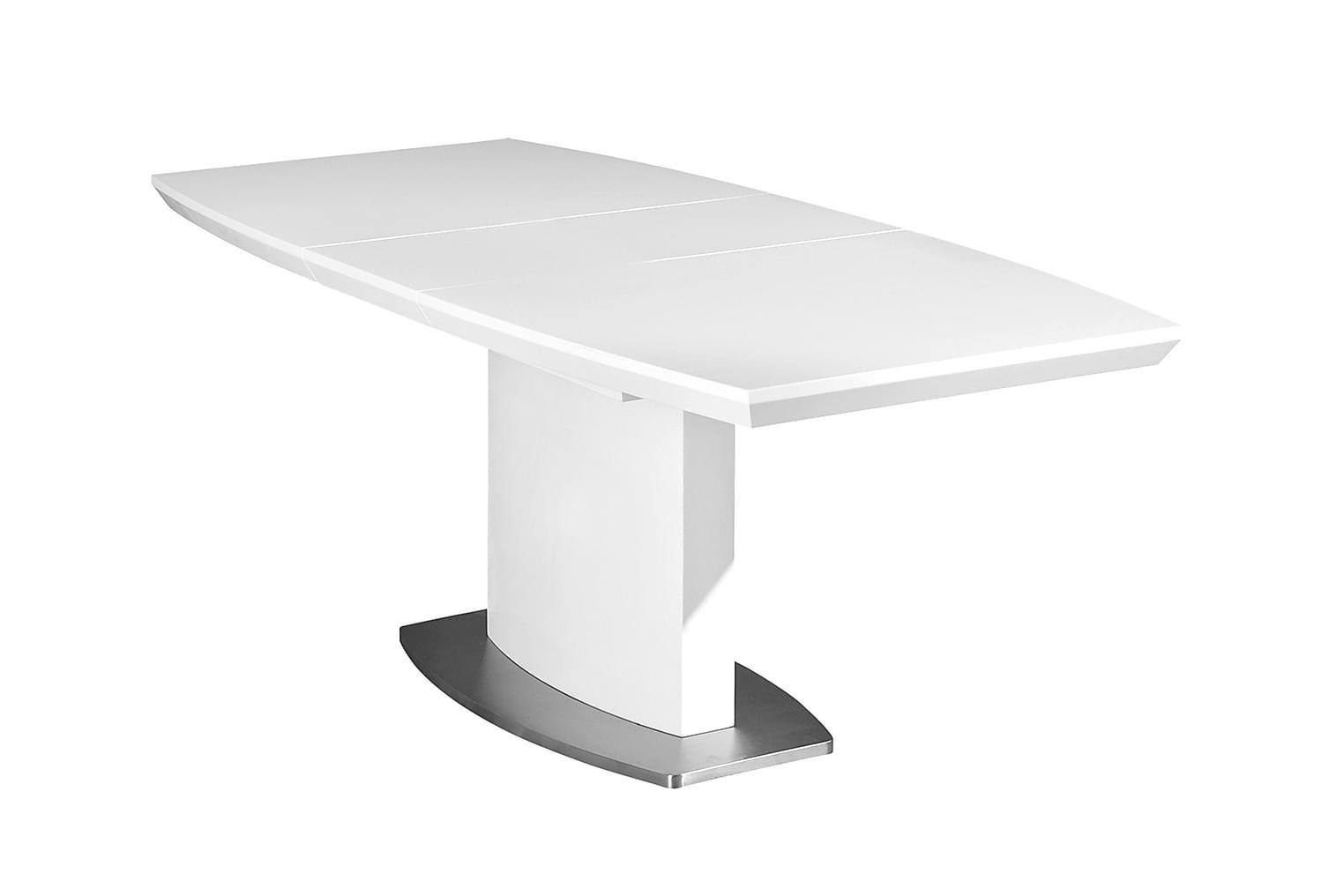 Winnipeg WINNIPEG Förlängningsbart bord 160 Vit -