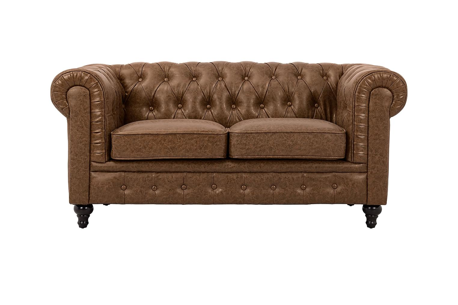 Chesterfield CHESTERFIELD 2-sits Soffa Brun -
