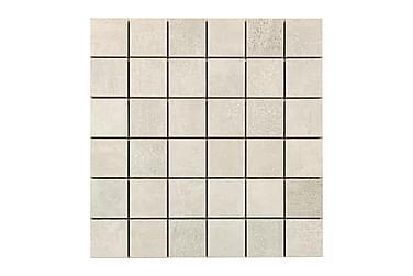Concrete Silver Grey Mosaik 30X30
