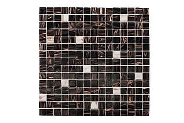 Mosaik Brun White Touch 32,7X32,7
