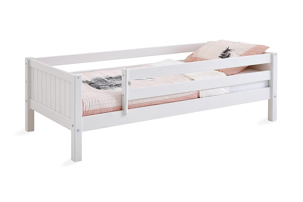Flexa Basic Barnsäng 90x200 cm - Vit - Möbler - Barnmöbler - Barnsängar & juniorsängar