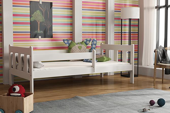 Ginora Säng 80x160 - Vit - Möbler - Barnmöbler