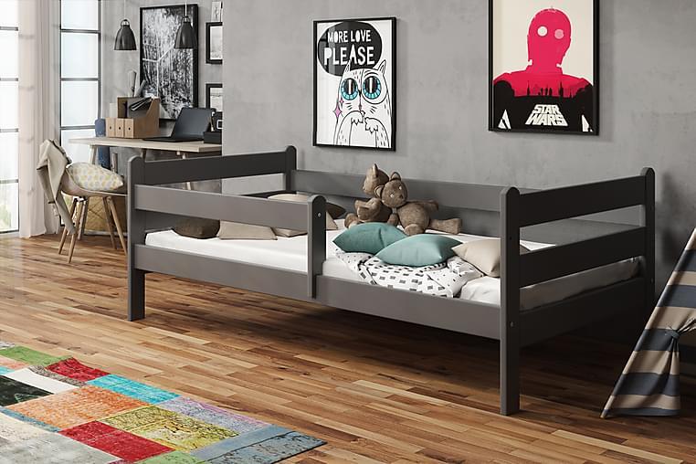 Lacker Säng 80x140 - Grå - Möbler - Barnmöbler - Barnsängar & juniorsängar