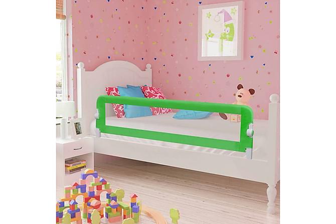 Sängskena för barn 2 st grön 150x42 cm - Grön - Möbler - Barnmöbler - Barnsängar & juniorsängar