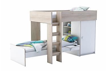Sängsystem med Garderob