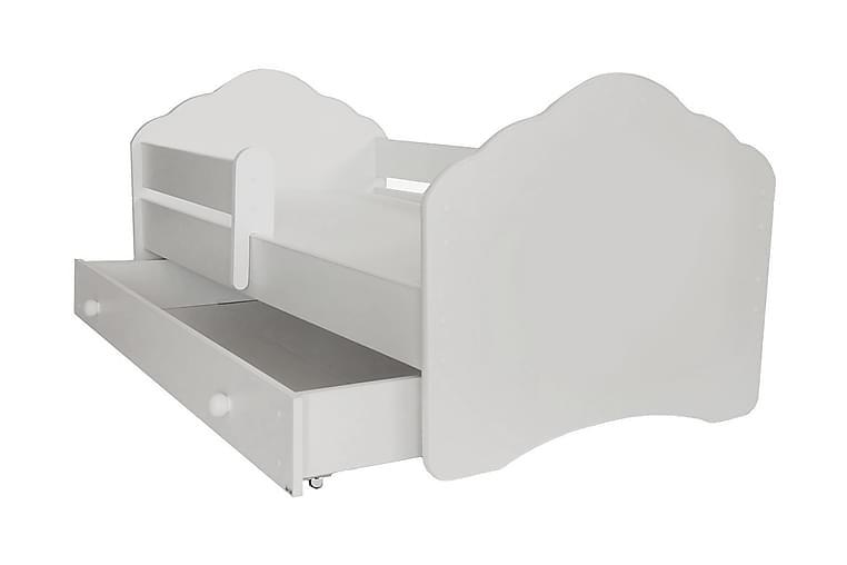 Venessa Barnsäng 80x160 med Förvaring - Vit - Möbler - Barnmöbler - Barnsängar & juniorsängar