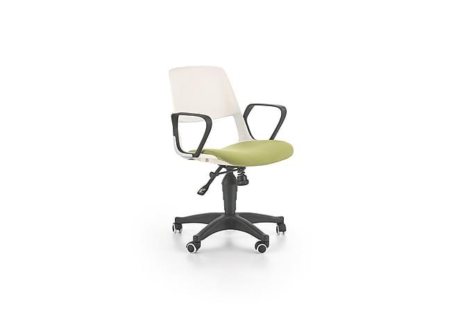 Jumbe Skrivbordsstol Barn - Vit/Grön - Möbler - Barnmöbler - Barnstol