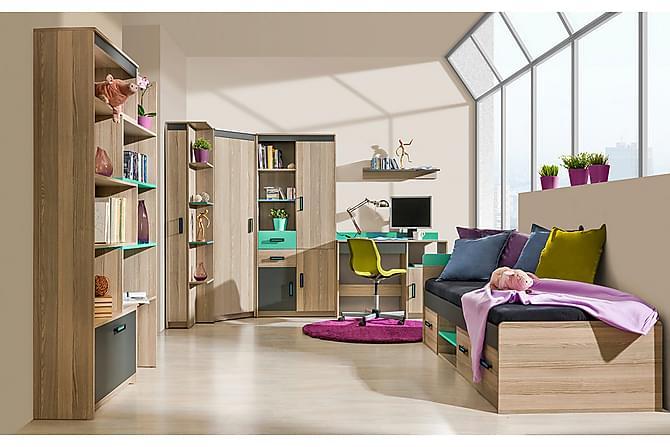 Ultimo Sovrumsset barn - Antracit|Grön - Möbler - Barnmöbler - Förvaring barnrum