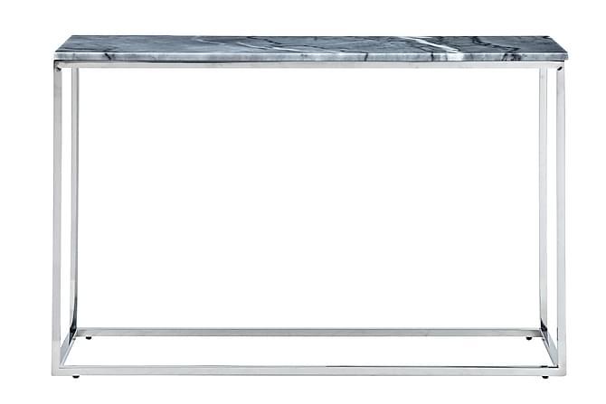 Carrie Avlastningsbord 120 cm - Grå/Krom - Möbler - Bord - Marmorbord