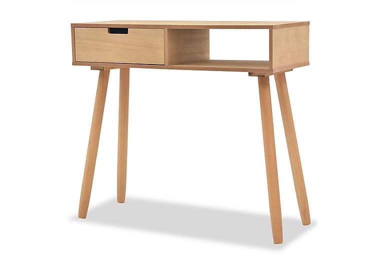 Konsolbord massiv furu 80x30x72 cm brun - Brun - Möbler - Bord - Avlastningsbord & hallbord
