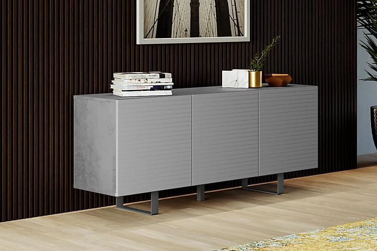 Tallmo Avlastningsbord 45 cm - Betong|Grå - Möbler - Bord - Avlastningsbord & hallbord