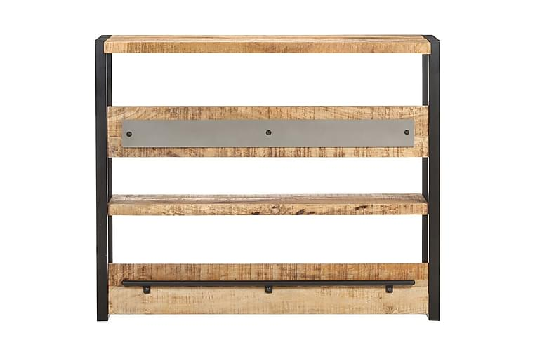 Barbord 120x40x101 cm grovt mangoträ - Brun - Möbler - Bord - Barbord & ståbord
