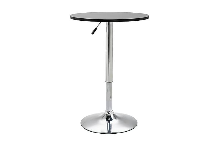 Barbord svart Ø60 cm MDF - Svart - Möbler - Bord - Barbord & ståbord
