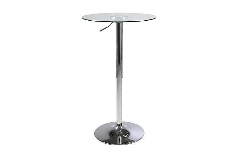 Juno Barbord 60 cm Runt - Glas/Krom - Möbler - Bord - Barbord & ståbord