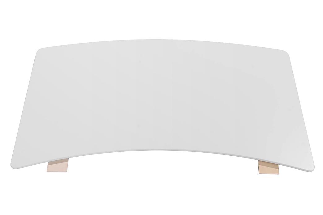 Soay Tilläggsskiva 45x90 cm - Vit - Möbler - Bord - Bordsben & tillbehör