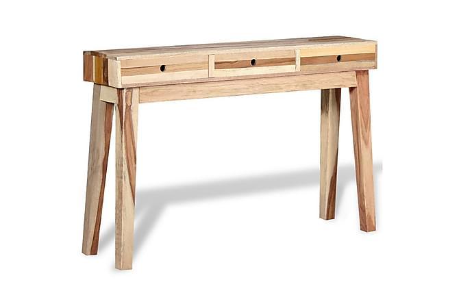 Arolla Konsolbord 3 Lådor 120x30 cm - Återvunnet Trä - Möbler - Bord - Lampbord & sidobord