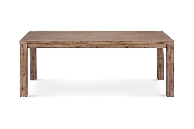 Alaska Förlängningsbart Matbord 140 cm - Brun - Möbler - Bord - Matbord & köksbord