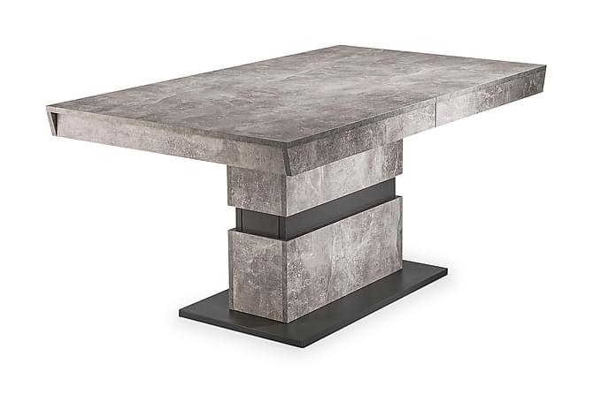 Arabia Matbord Förlängningsbart - Grå - Möbler - Bord - Matbord & köksbord