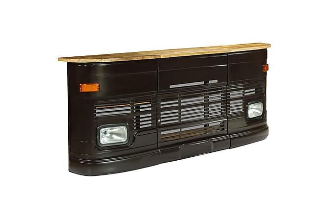 Barbord massivt mangoträ lastbil mörkgrå - Möbler - Bord - Matbord & köksbord