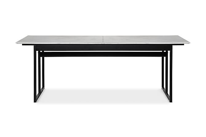 Carrie Matbord 220 cm Marmor - Svart - Möbler - Bord - Matbord & köksbord