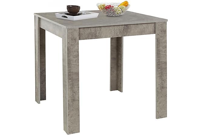 Corot Matbord 80 cm - Grå - Möbler - Bord - Matbord & köksbord