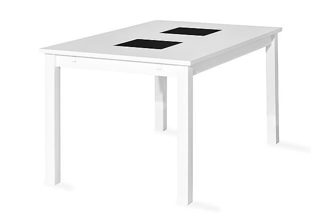 Jasmin Förlängningsbart Matbord 140 cm - Vit - Möbler - Bord - Matbord & köksbord
