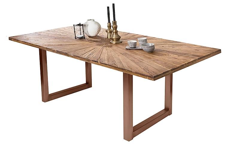 Laikera Matbord 160x90 cm - Återvunnen Teak/Brun - Möbler - Bord - Matbord & köksbord