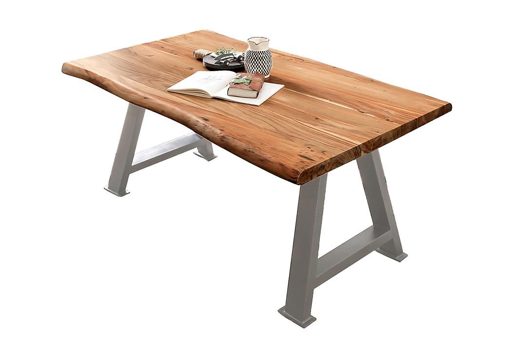 Laikera Matbord 180x90 cm - Akacia/Silver - Möbler - Bord - Matbord & köksbord