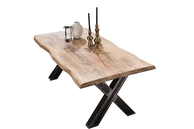 Laikera Matbord 180x90 cm - Mango/Natur/Silver - Möbler - Bord - Matbord & köksbord