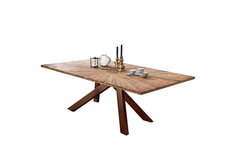 Laikera Matbord 200x100 cm - Återvunnen Teak/Brun - Möbler - Bord - Matbord & köksbord