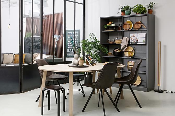 Lange Jan Förlängningsbart Matbord 120 cm Rund - Ek - Möbler - Bord - Matbord & köksbord