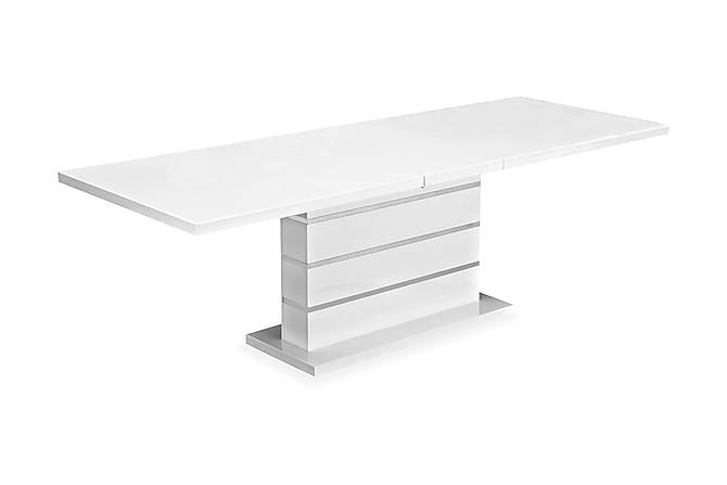Malibu Förlängningsbart Matbord 200 cm - Vit - Möbler - Bord - Matbord & köksbord