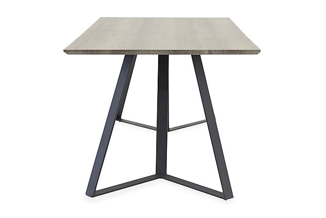 Malvina Matbord 180 cm - Grå/Svart - Möbler - Bord - Matbord & köksbord