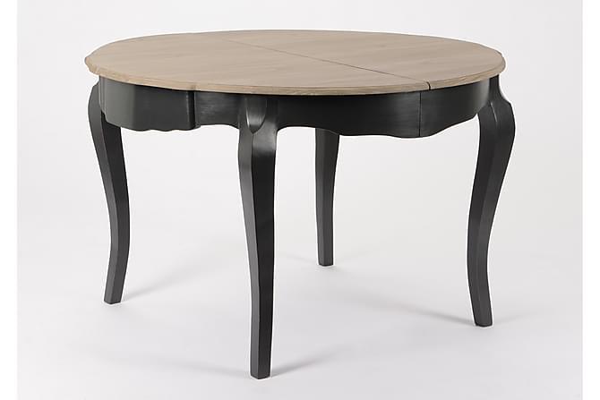 Matbord 120 cm - Svart/Trä/Natur - Möbler - Bord - Matbord & köksbord