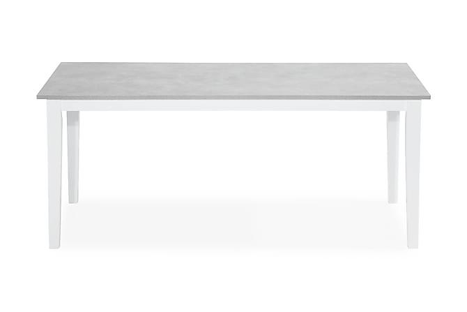 Romeo Matbord 180 cm - Grå/Vit - Möbler - Bord - Matbord & köksbord