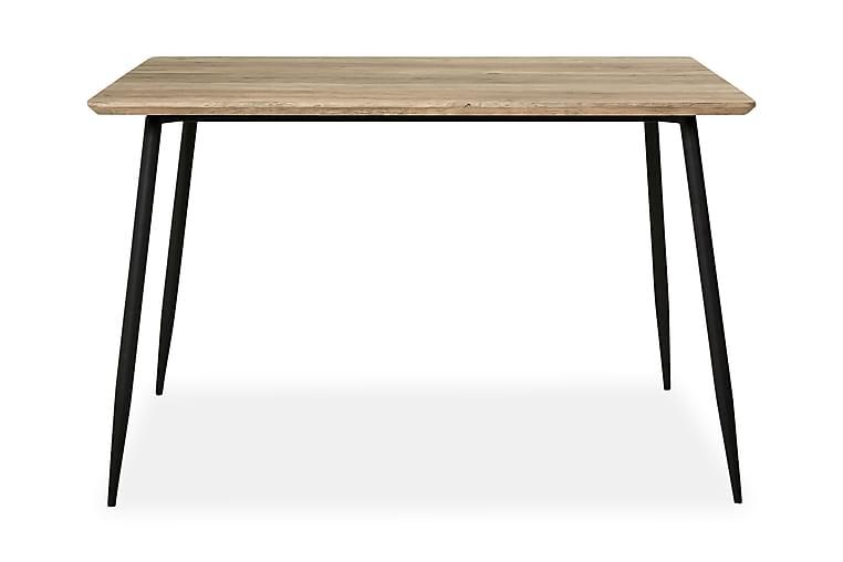 Smokey Matbord 120 cm - Grå/Svart - Möbler - Bord - Matbord & köksbord