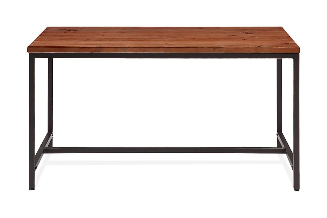 Wilmer Matbord 140 cm - Trä/Svart - Möbler - Bord - Matbord & köksbord