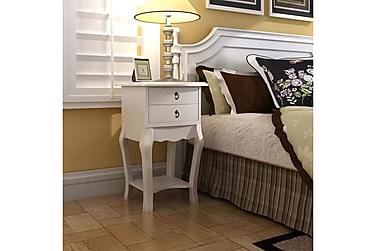 Dejlika Sängbord 2 Lådor 40x30 cm